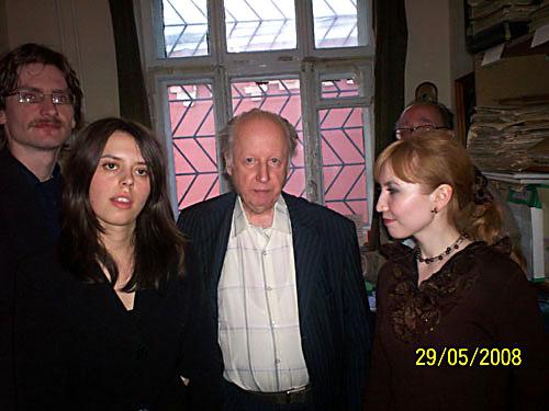 Композитор Петр Куличкин. Блог. Композитор Алексей Муравлев и выпускники Гнесинки 2008 года