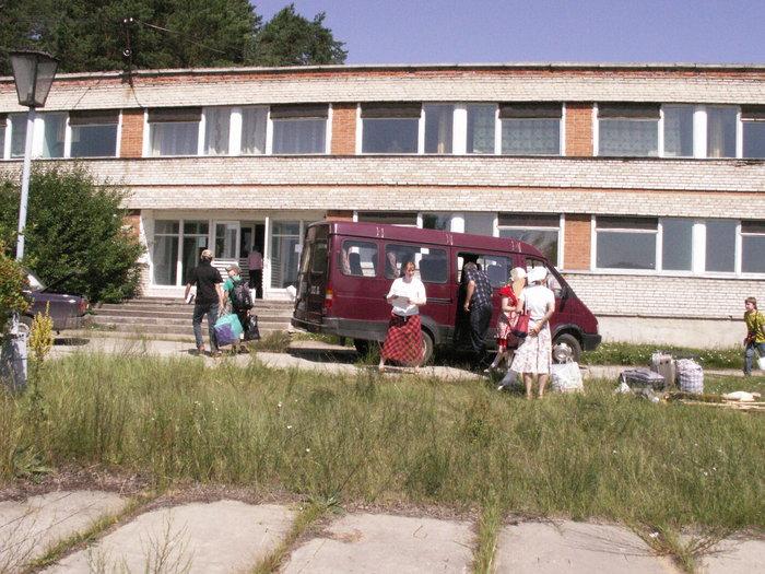 Осмотр лагеря (фото А. Коргатова)