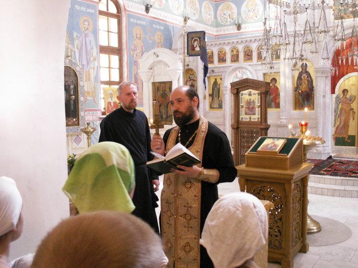 Молебен (фото А. Коргатова)