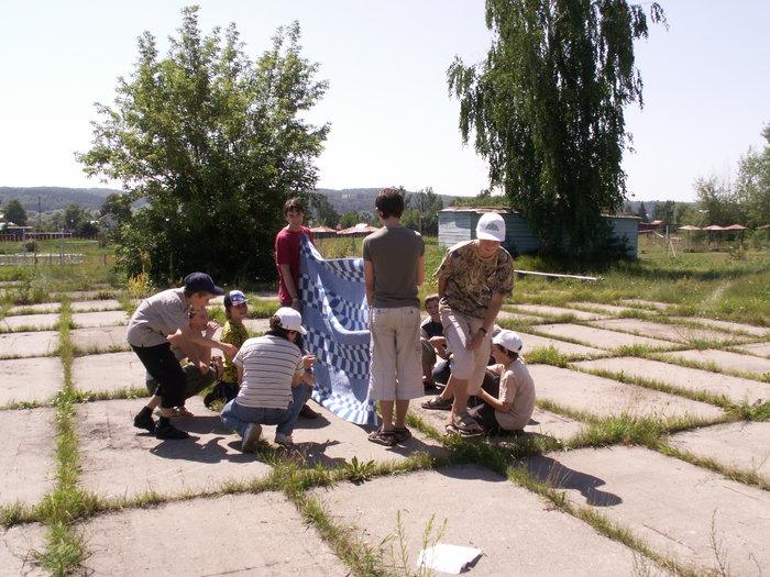 Знакомство. Седьмой отряд (фото А. Коргатова)