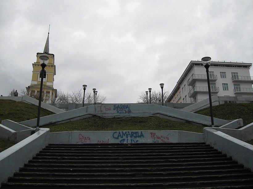 Путь наверх. Фото Анатолия Маринина
