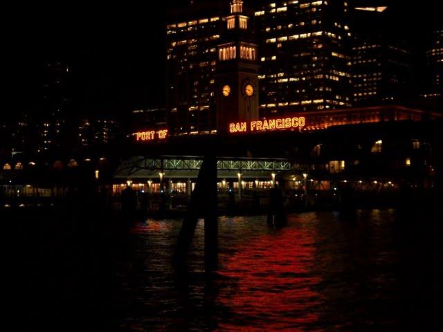 Так Сан-Франциско выглядит ночью
