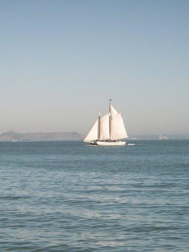 Белый пароход, приплывший из Одессы