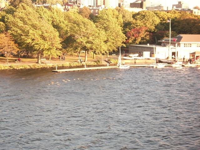 В Бостоне тоже есть вода