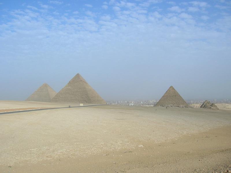 Правильные пирамиды. Фото - vladimir & irina