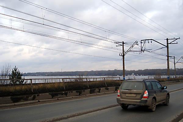 Куда заканчивается Кама или Пермский Энергетический Шлюз (полный отчет). Плотина. Вид на северо-восток