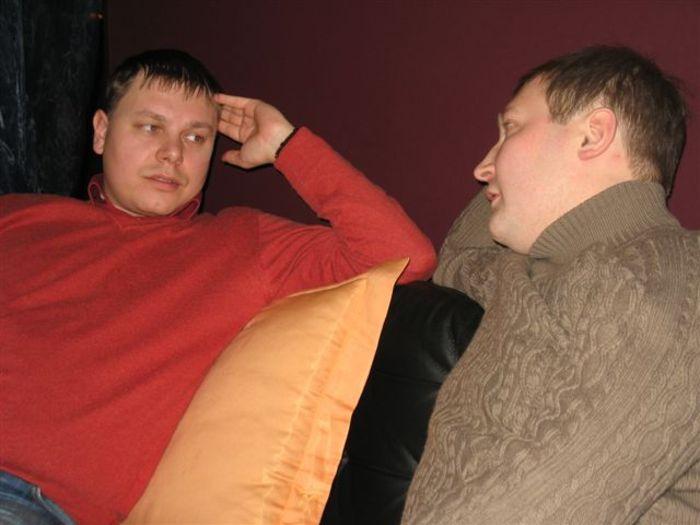Костя Ляхов и Сережа Селезнев, 2010-й год