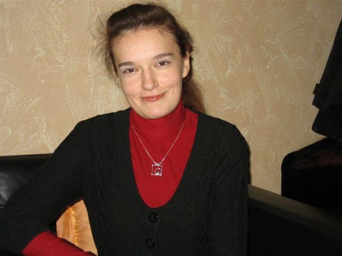 Наташа Шабрыкина, 2010-й год. Фото первое