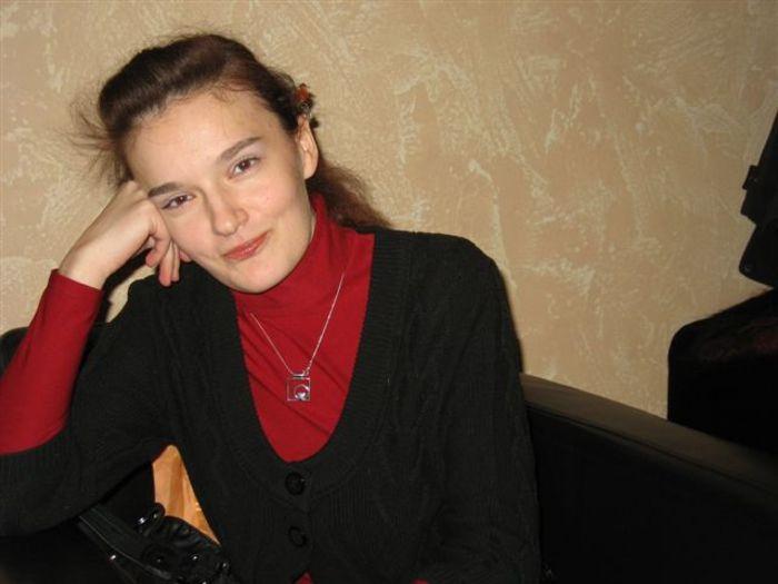 Наташа Шабрыкина, 2010-й год. Фото второе