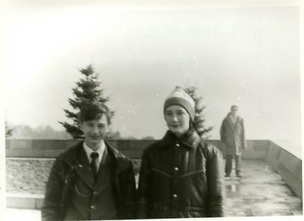 Я и Сережа Селезнев (справа)