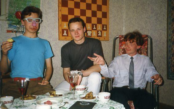 композитор Петр Куличкин, менеджер Илья Григорьев, политик Александр Зотин